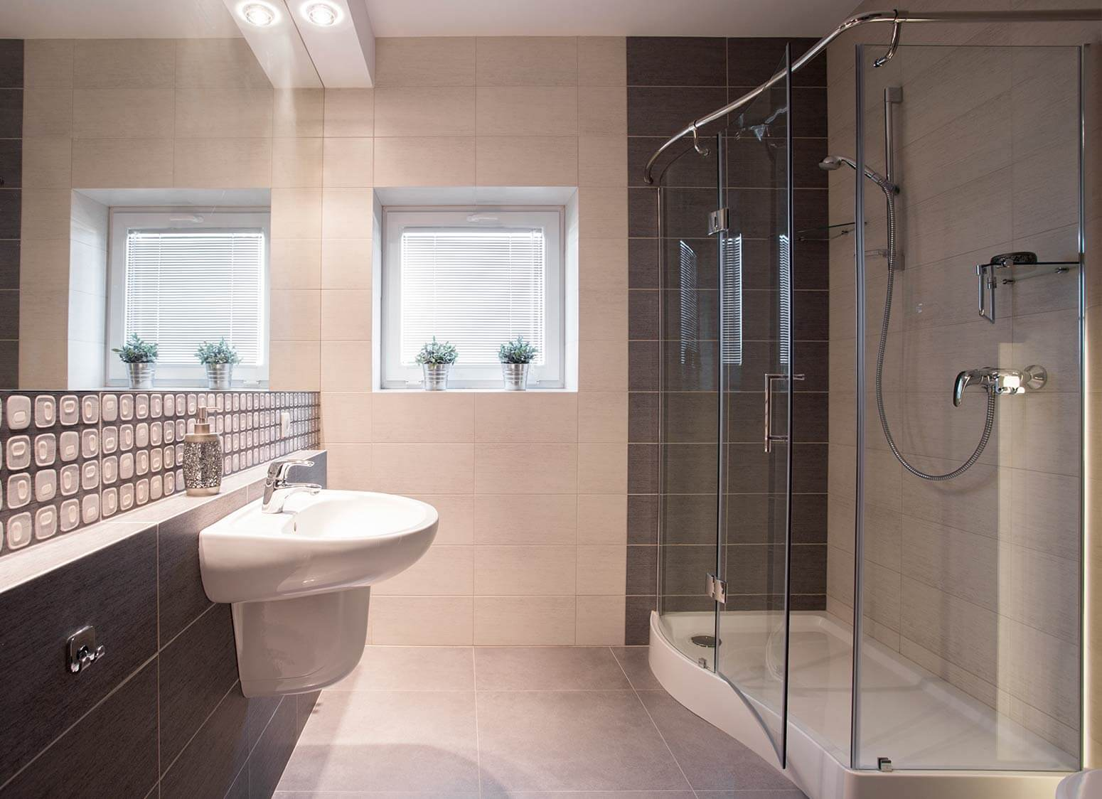 37 bathrooms with walk in showers clyde bathrooms offset for Shower cubicles for small bathrooms uk