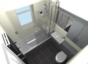 CAD Bathroom Design in Scunthorpe