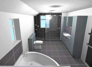 CAD Bathroom Design in Gainsborough